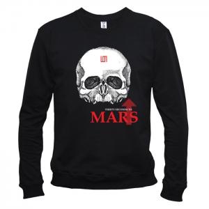 30 Seconds To Mars 08 - Свитшот мужской