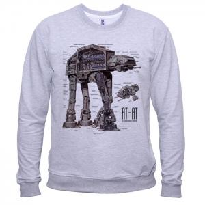 Star Wars AT-AT 01 - Свитшот мужской