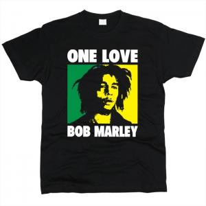 Bob Marley 04 - Футболка мужская