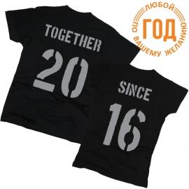 Together Since 05 - Футболки парные