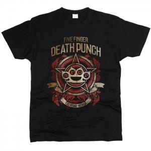 Five Finger Death Punch 08 - Футболка мужская