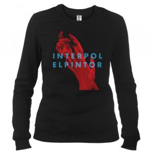 Interpol 05 - Свитшот женский