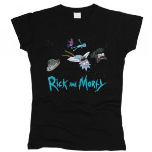 Rick And Morty (Рик и Морти) 06 - Футболка женская