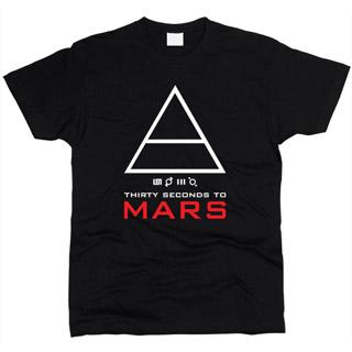 30 Seconds To Mars 06 - Футболка мужская