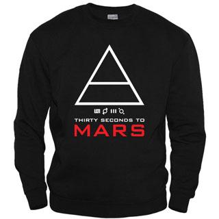 30 Seconds To Mars 06 - Свитшот мужской