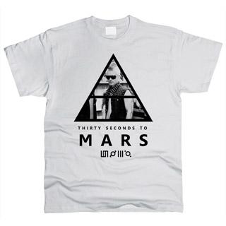 30 Seconds To Mars 07 - Футболка мужская