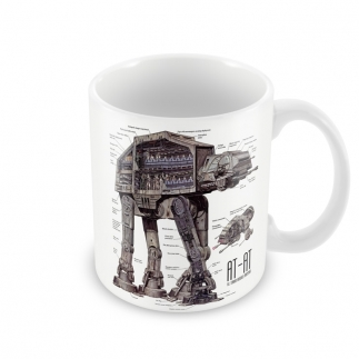 Чашка Star Wars AT-AT 01