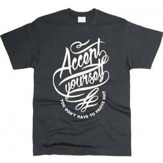 Accept Yourself - футболка мужская