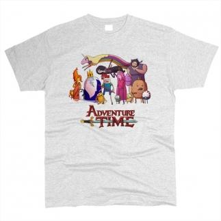 Adventure Time 01 - Футболка мужская