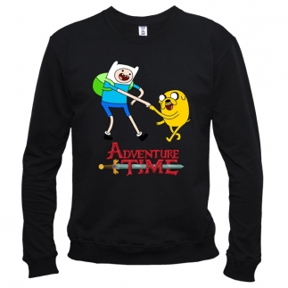 Adventure Time 03 - Свитшот мужской