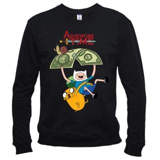 Adventure Time (Время приключений) 05 - Свитшот мужской