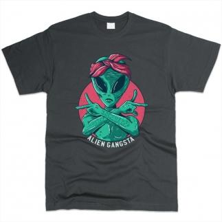 Alien Gangsta - Футболка мужская