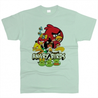 Angry Birds 05 - Футболка мужская
