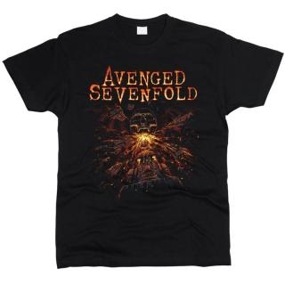 Avenged Sevenfold 07 - Футболка мужская