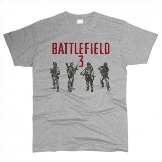 Battlefield 01 - Футболка мужская