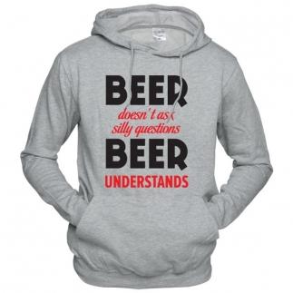 Beer Understands - Толстовка с капюшоном