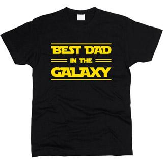 Best Dad In The Galaxy 01 - Футболка