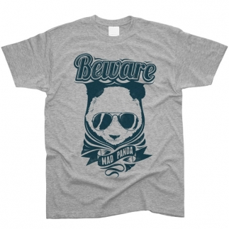 Beware Mad Panda - футболка мужская