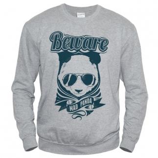 Beware Mad Panda - свитшот мужской