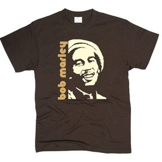 Bob Marley 01 - Футболка мужская