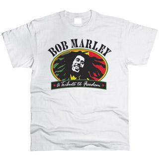 Bob Marley 02 - Футболка мужская