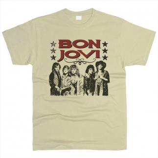 Bon Jovi 04 - Футболка мужская