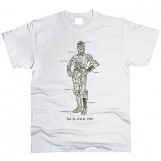 Star Wars C3PO 01 - Футболка мужская