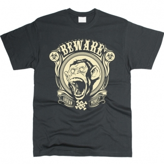 Beware Urban Monkey - футболка мужская