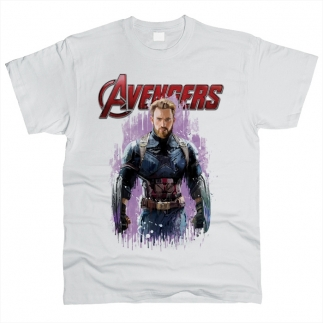 Captain America 01 - Футболка мужская