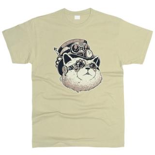 Steampunk Cat - Футболка мужская