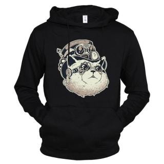 Steampunk Cat 01 - Толстовка женская