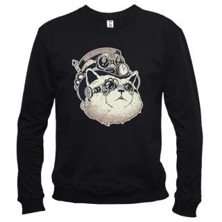 Steampunk Cat - Свитшот мужской