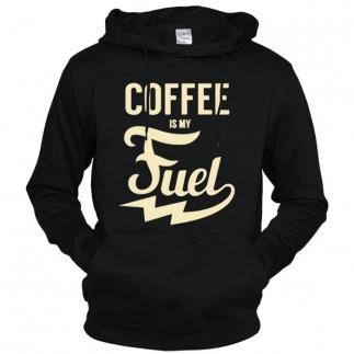 Coffee Is My Fuel - толстовка с капюшоном мужская