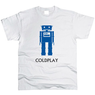 Coldplay 04 - Футболка мужская