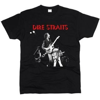 Dire Straits 01 - Футболка мужская