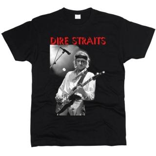 Dire Straits 02 - Футболка мужская