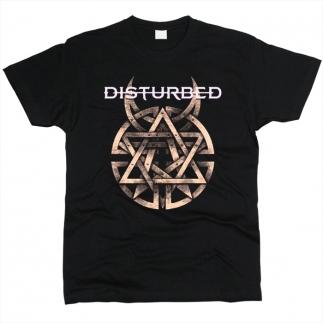 Disturbed 04 - Футболка мужская