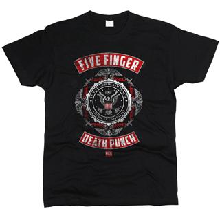 Five Finger Death Punch 06 - Футболка мужская