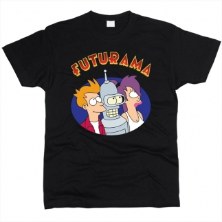 Futurama 02 - Футболка мужская
