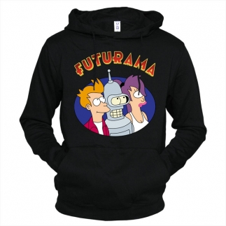 Futurama 02 - Толстовка мужская