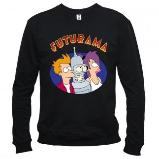 Futurama 03 - Свитшот мужской