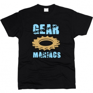 Gear Maniacs - Футболка