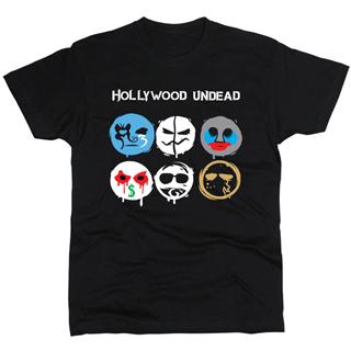 Hollywood Undead 01 - Футболка мужская
