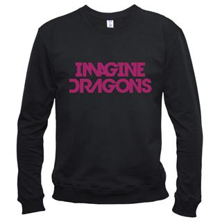 Imagine Dragons 01 - Свитшот мужской