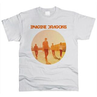 Imagine Dragons 04 - Футболка мужская