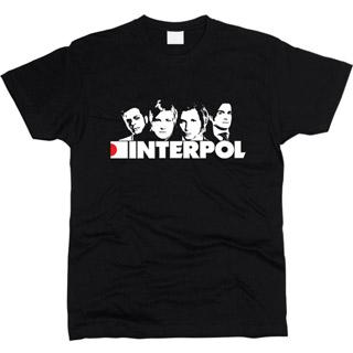 Interpol 01 - Футболка мужская
