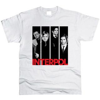 Interpol 02 - Футболка мужская