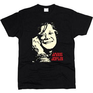Janis Joplin 01 - Футболка мужская