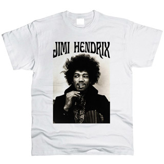 Jimi Hendrix 01 - Футболка мужская