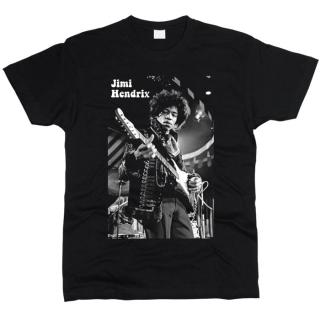 Jimi Hendrix 06 - Футболка мужская